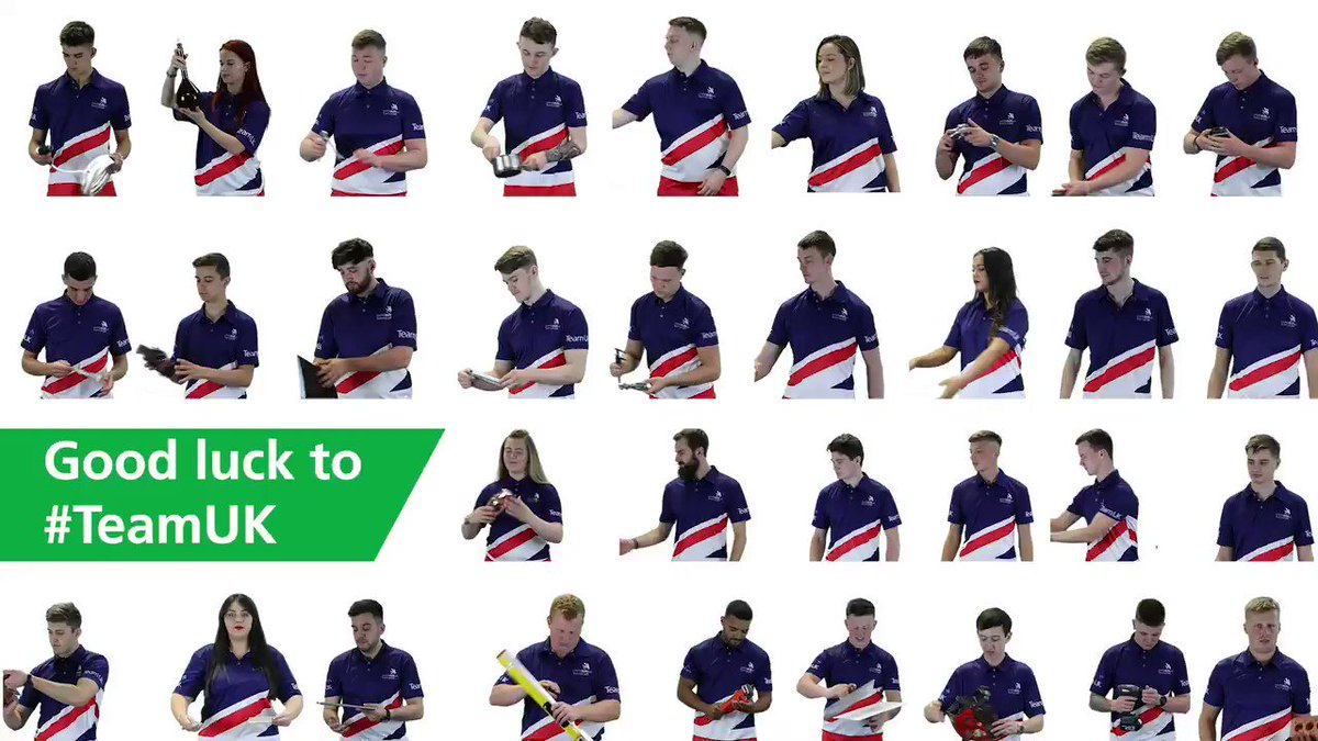 Meet #TeamUK – the top #apprentices & learners heading to @WorldSkillsKZN next month to compete at the #Skills Olympics in Russia. Follow all the action LIVE – don't miss the spectacular opening & closing ceremonies, as well as daily updates from the team: bit.ly/2KJXZqC