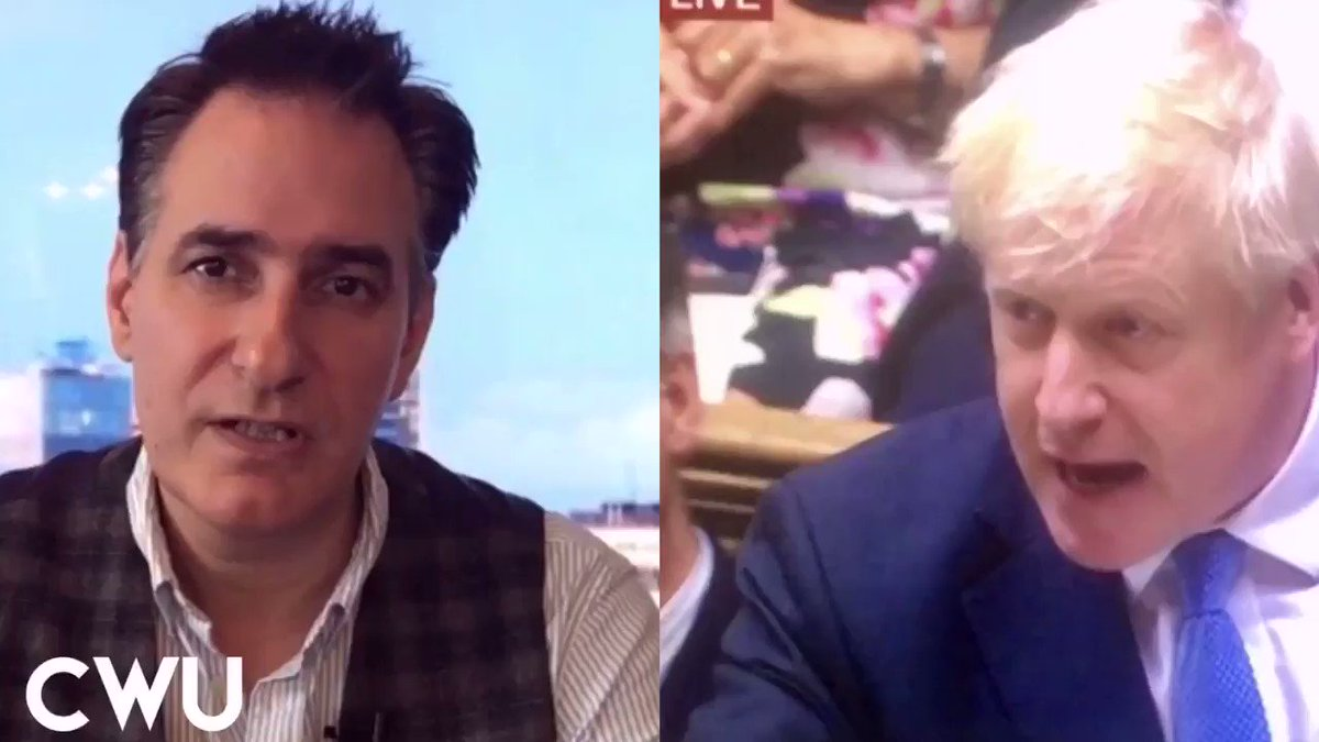 """Boris Johnson says """"his is the party of the people."""" 14 Million People living in poverty, Millions of food bank parcels handed out, soaring homelessness & malnutrition & a reduction in life our expectancy says otherwise. RT if you agree"""