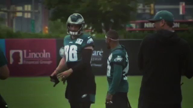 When the boys are back together @DeSeanJackson11 #TrainingCamp #Day1 #FlyEaglesFly