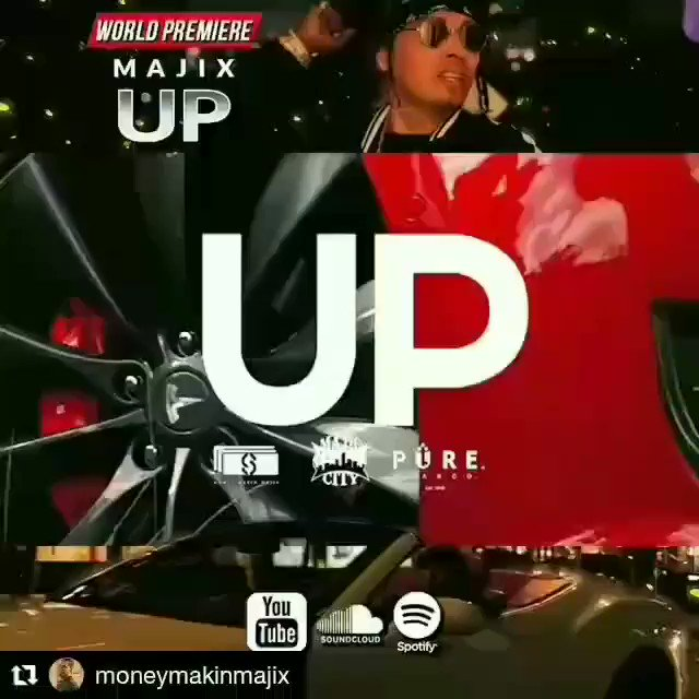 GOLDENMONEY  TEAM  PRESENTS NEW MUSIC ALERT @MoneyMakinMajix (Up) Available on all platforms . . #goldenmoneyteam #agodgmt   #rapper #trapmusic #fintech #BigData #javascript #HipHopEd #musicproducer #AMJoy #100DaysOfCode #hiphop #Spinrillapic.twitter.com/RzEOfj14fP