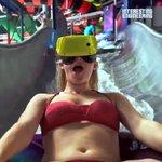 ウォータースライダーの新たな楽しみ方?VRを使えば面白さ倍増!