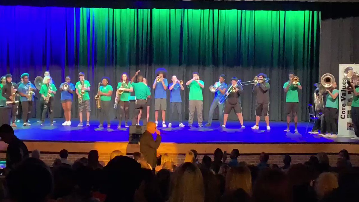 Wow! What a great way to kick off the VBCPS Leadership Conference! @vbschools