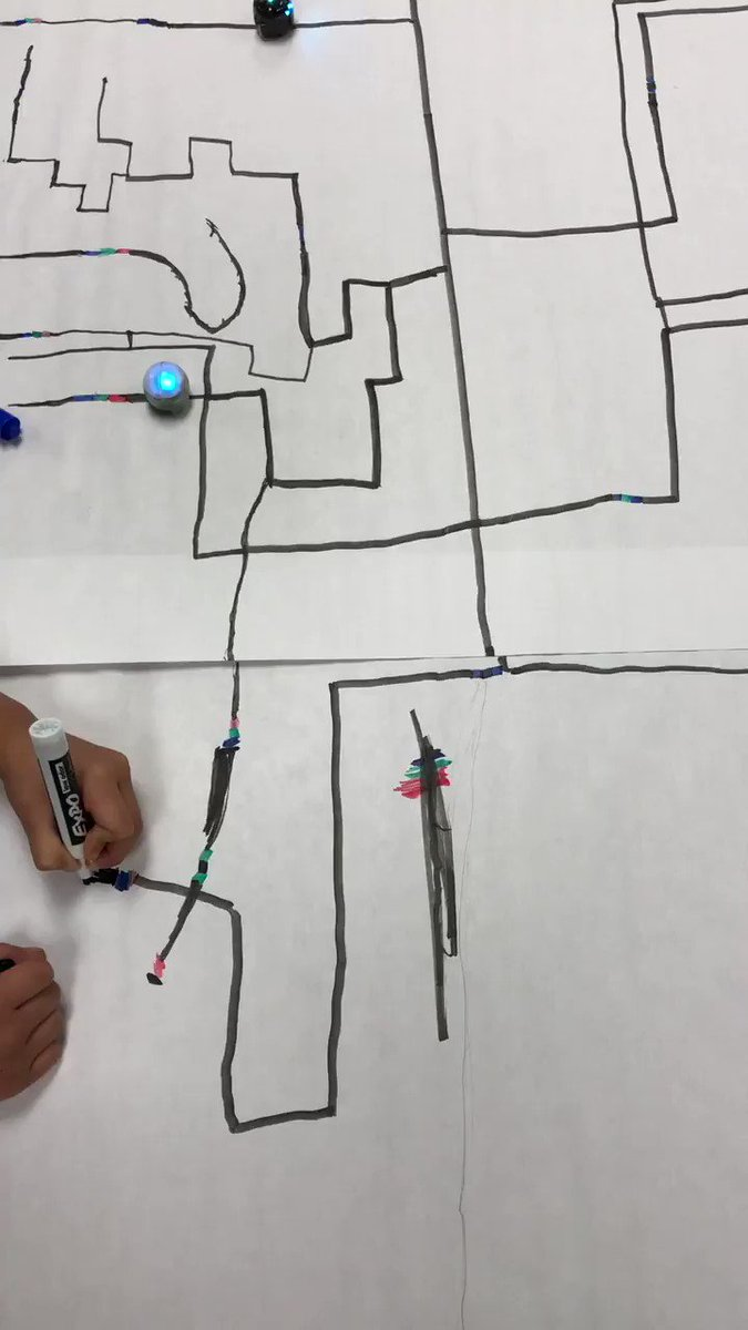 Coding <a target='_blank' href='http://search.twitter.com/search?q=Ozobots'><a target='_blank' href='https://twitter.com/hashtag/Ozobots?src=hash'>#Ozobots</a></a> this morning and collaborating to merge paths together!  <a target='_blank' href='http://twitter.com/LaureateAPS'>@LaureateAPS</a> <a target='_blank' href='http://twitter.com/APSGifted'>@APSGifted</a> <a target='_blank' href='https://t.co/BZyr8al3Oa'>https://t.co/BZyr8al3Oa</a>
