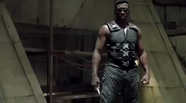 Happy Birthday, Wesley Snipes!  Blade - Dir. Stephen Norrington