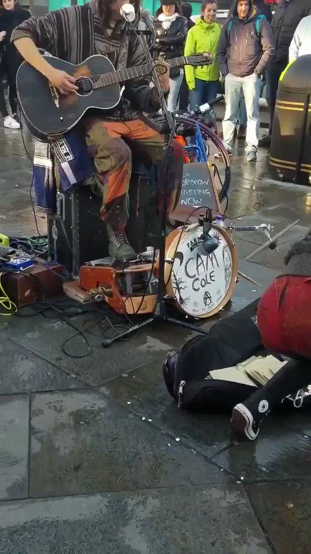 ロンドンの路上ライブはレベルが違う