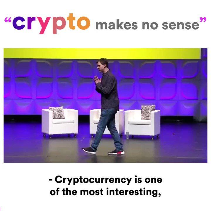 cryptocurrency makes no sense