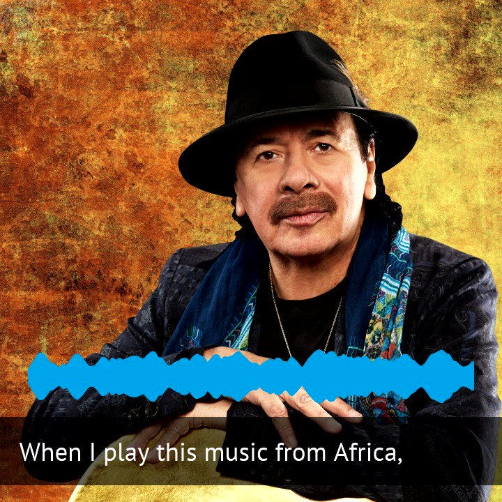 "We had iconic guitarist Carlos Santana (@SantanaCarlos) on The World today. He spoke with host @MarcoWerman about Woodstock 1969 and his new album ""Africa Speaks,"" featuring singer Buika. https://t.co/QYCG5YOTNK https://t.co/U5l1zXy2gu"