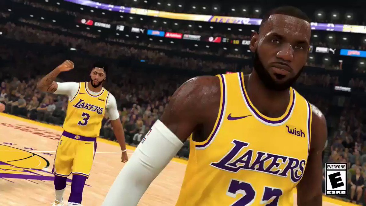 My handles are so fire in the 2K20 gameplay trailer‼️Excited to get on the sticks on #2KDay 9/6!Pre-order now: http://nba2k.com/2k20/buy #ad