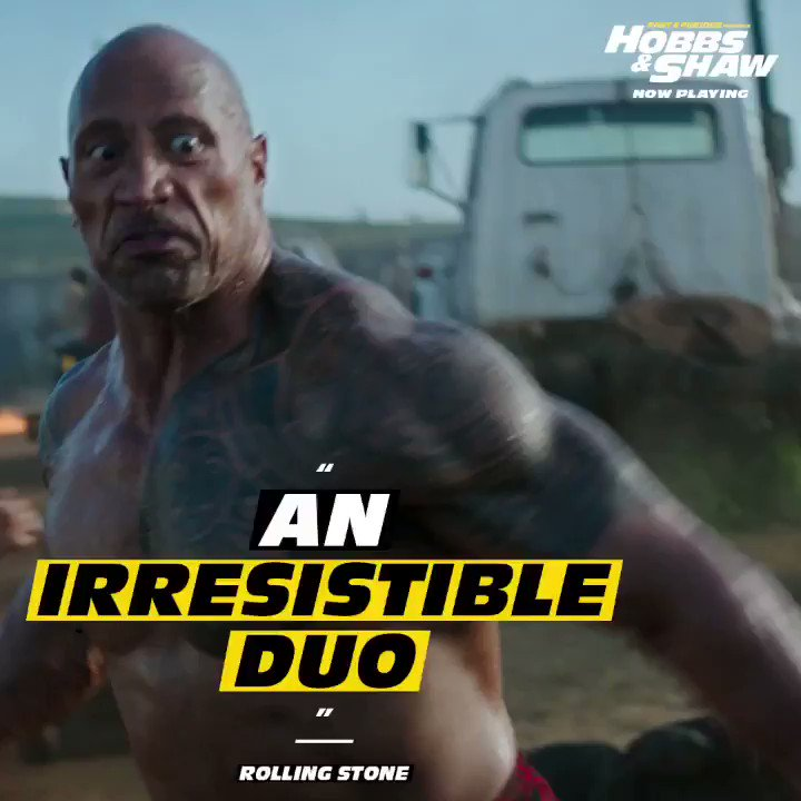 Image for the Tweet beginning: HOBBS & SHAW WEEKEND IS