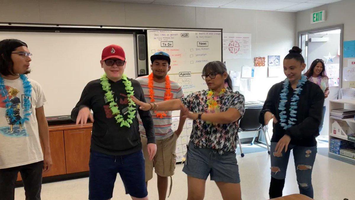Hope everyone had a great Aloha Friday from the EHA ASB!