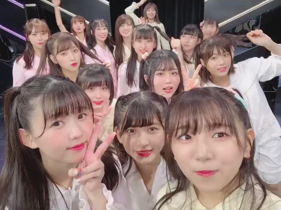 ただいま恋愛中公演ありがとうございました🧸💓(ほぼみんな!)ハーフツイン公演でしたっ♥♥笑まいこむさんおかえりなさい♥️みーーんなで動画撮りました♥#HKT48