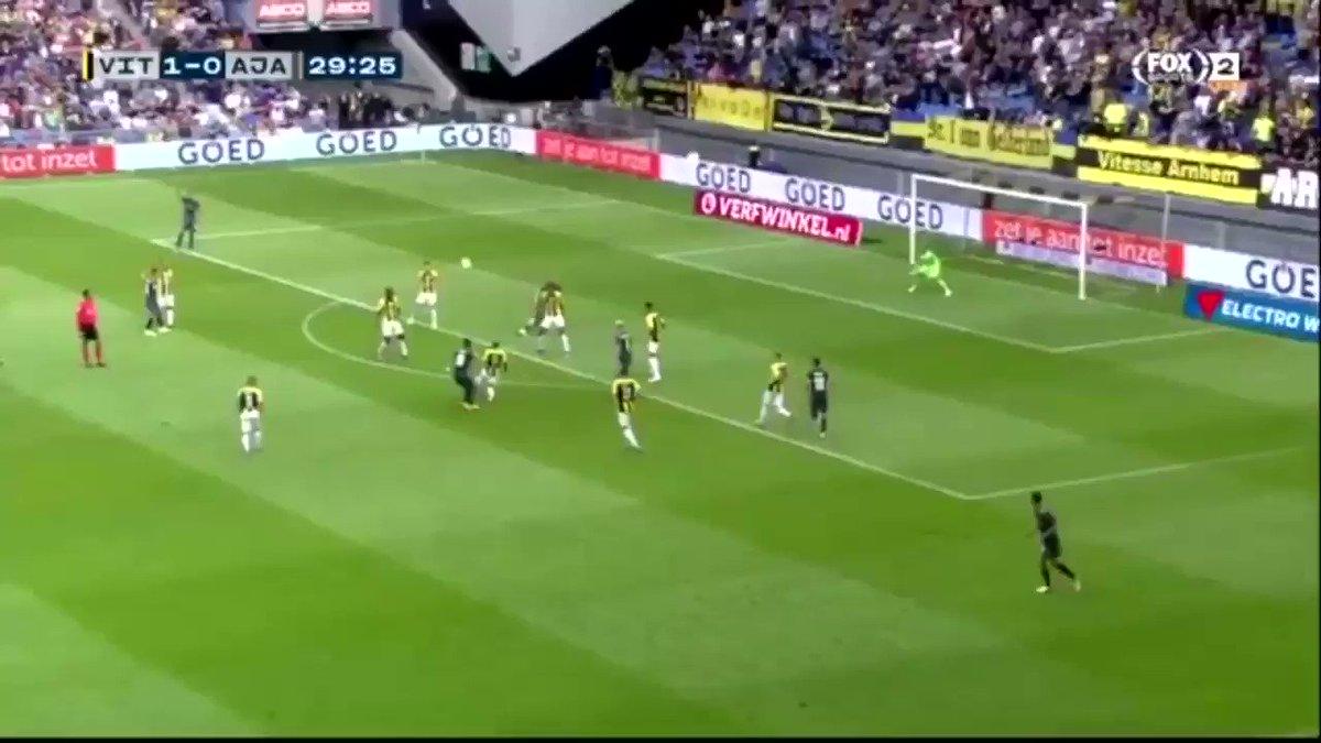 Vitesse - Ajax 1-1 door Donny van de Beek