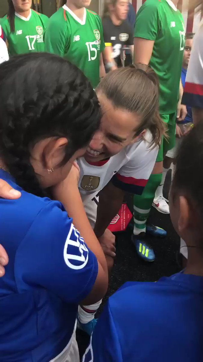 USWNT Releases Incredible Video From Saturday Night's Game
