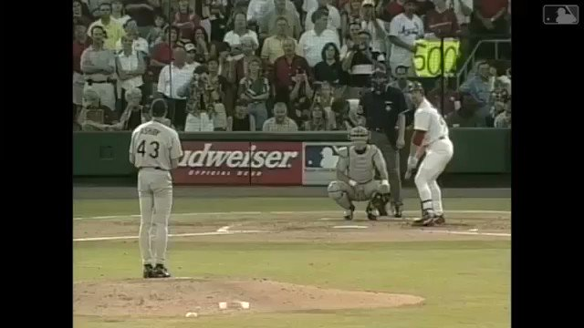 20 years ago today, Big Mac belted his 500th career HR.