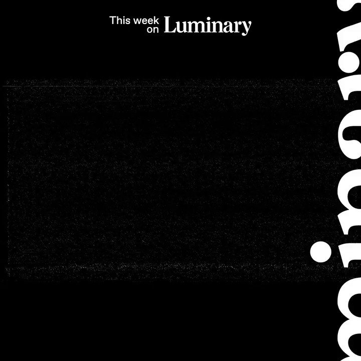 We've got daily doses of #Luminary for you all week long. Get to listening: bit.ly/2EjGB8g.