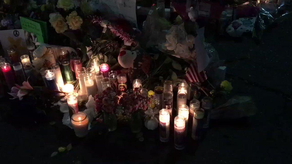 Memorial to victims of mass shooting in El Paso, TX.