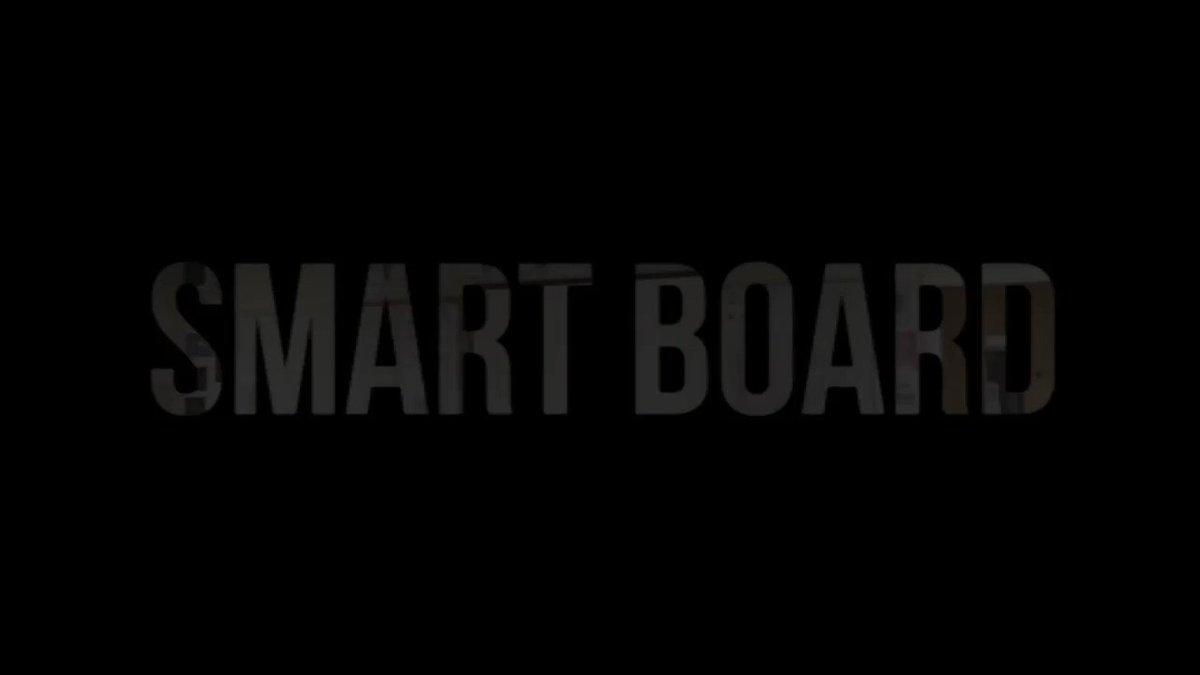Image for the Tweet beginning: ☀️Summer holiday #SMART Board upgrade!