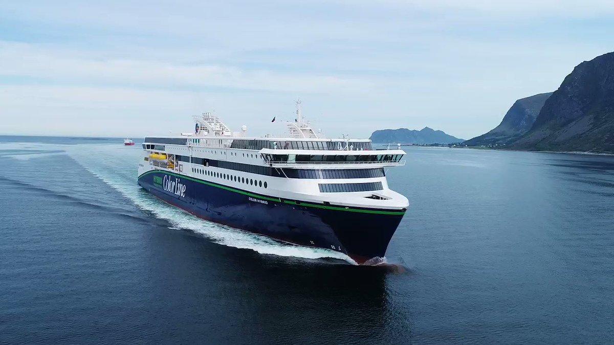Fra 16. august kan du reise med Color Hybrid. Bli med Caroline og få en liten sniktitt inn i skipet!