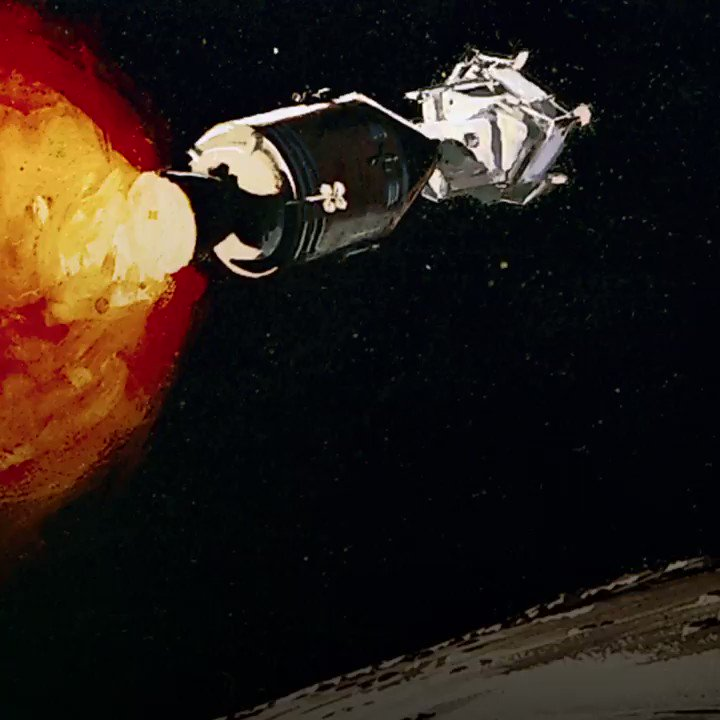 It was electrical engineer Richard Battin who figured out that we can use other planets gravitational forces to navigate a spacecrafts journey. Thanks to Battin, we were able to use the moons gravity to guide #Apollo11 back to earth. #hackthemoon bit.ly/2YtKgf7