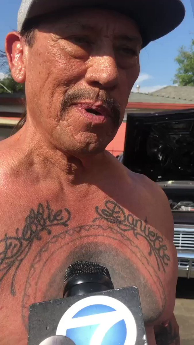 Danny Trejo Rescues Boy From Car Wreck