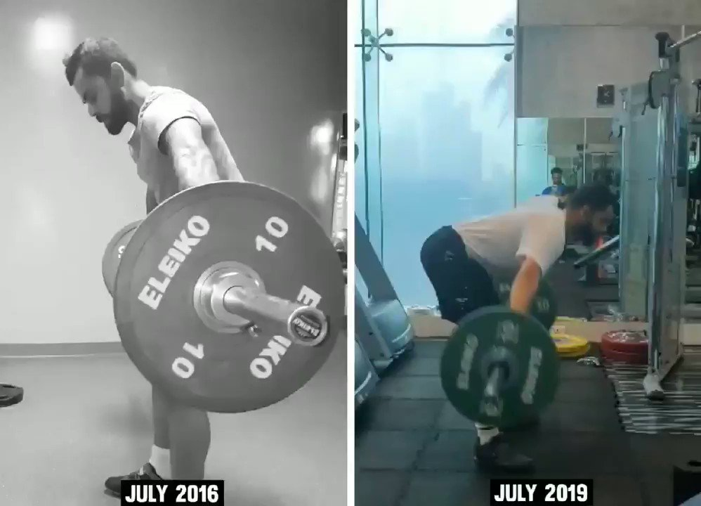 Always take more time to get the technique right before wanting to take the weight up. Same exercise 3 years apart, regular work & constantly focusing on technique has improved my mobility & full body strength too. So always be patient with learning something new. 💪 💯