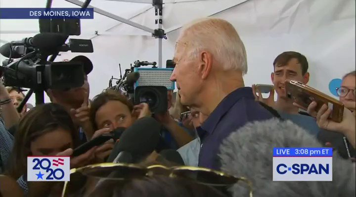 Biden Was Asked What He Did In 8 Years To Stand Up To China. Here's His Response