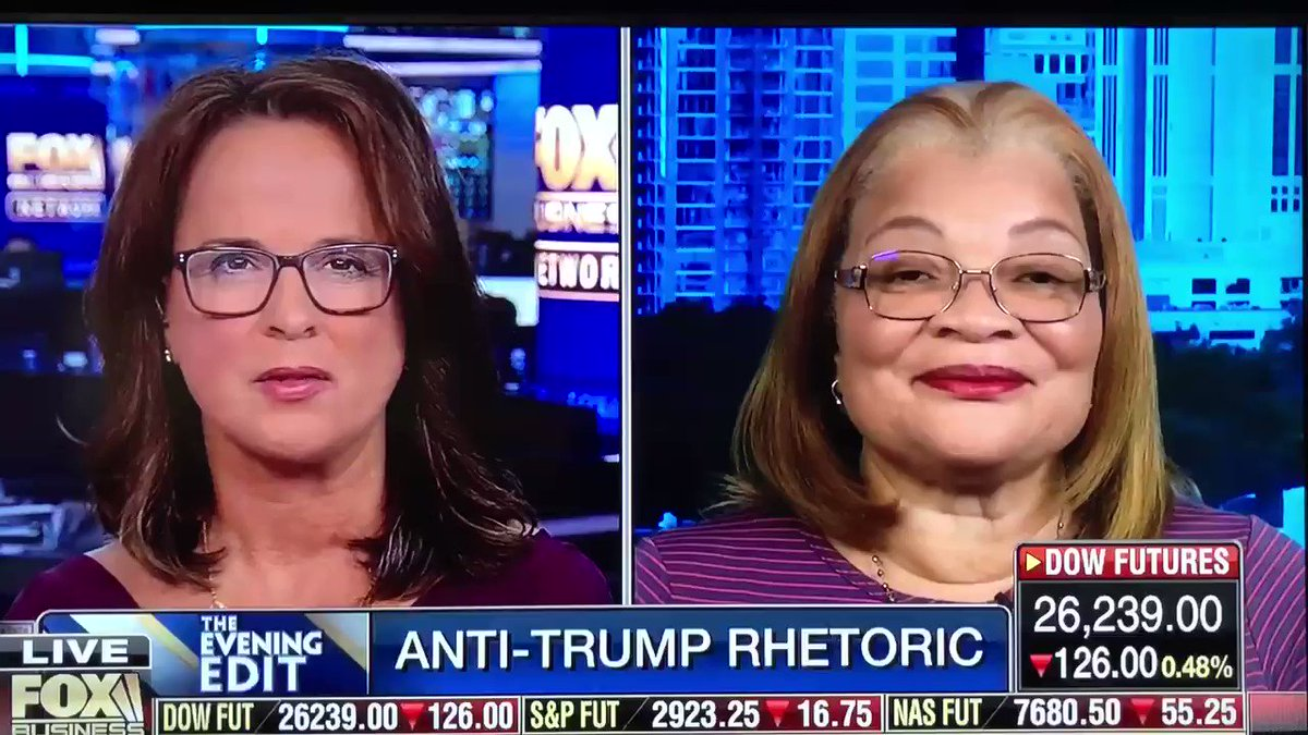 Next time liberals tell you that .@realDonaldTrump is a #RacistPresident, show them this. Who would know more about racism than @AlvedaCKing. Having gone through so much in her life, I'm fairly sure she can spot a racist from miles away. Racist Democrats need to stop projecting.