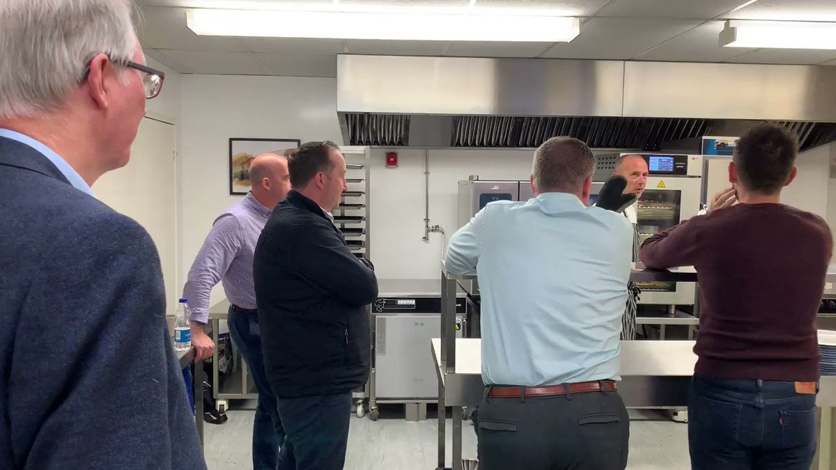 Image for Another successful @Alto_Shaam Vector Live cooking demonstration done and dusted!