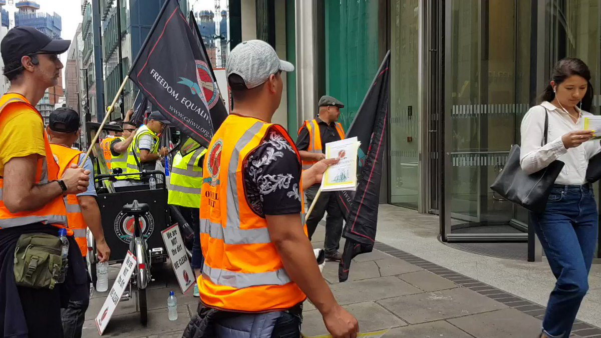 Night shift workers not guaranteed the #LondonLivingWage, on lower hourly pay than their day shift peers, and with less sick and annual leave say this is not good enough! Please value your cleaners @AGinsight and value your employees @IncentiveFM