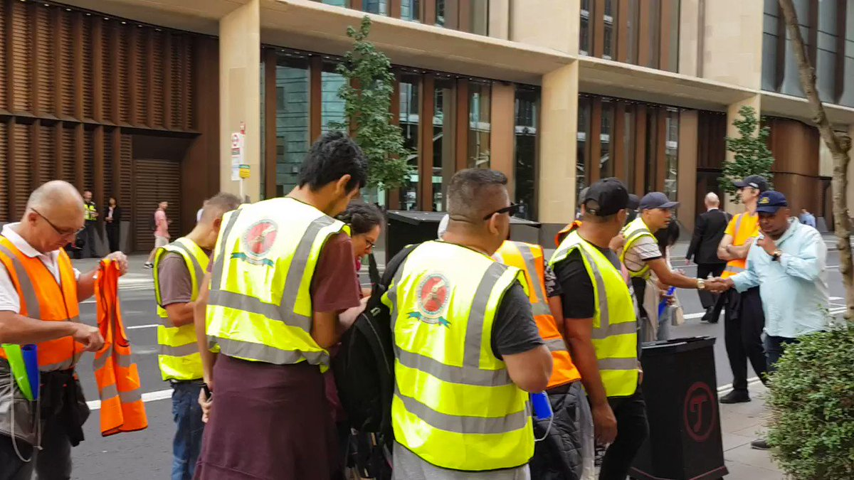 Reinstate the workers dismissed for being unionists @WeWorkUK and CCM!