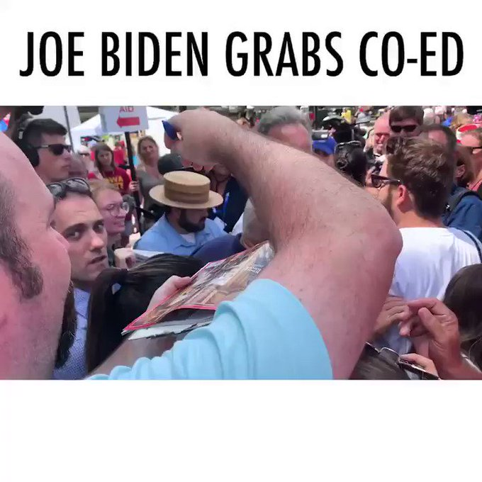 ODX2AmEZ_normal VIDEO: JOE BIDEN FORCEFULLY GRABS YOUNG WOMAN DURING IOWA STATE FAIR [your]NEWS