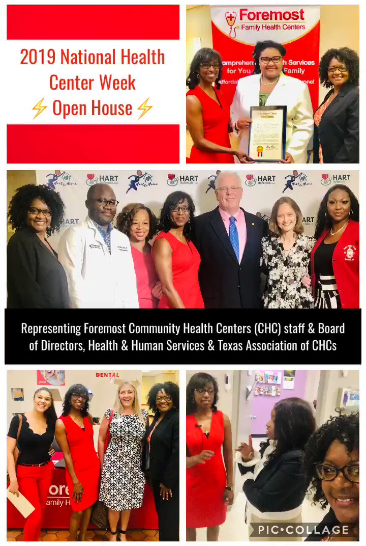 Resolution from St. Rep. Rose (TX District 110) & other advocacy pics #NHCW19 #ValueCHCs https://t.co/3anXPnNa6m