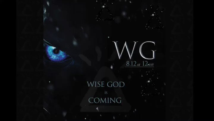 Thanks @GameOfThrones for the inspiration. Next step is to follow the success. @Wise__God Is Coming #bewiselivewise #weallwillbewise #wisegod