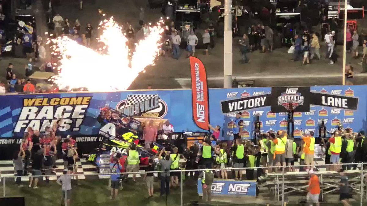 What an event, what a race! Congrats @DavidGravel! #KnoxvilleNationals