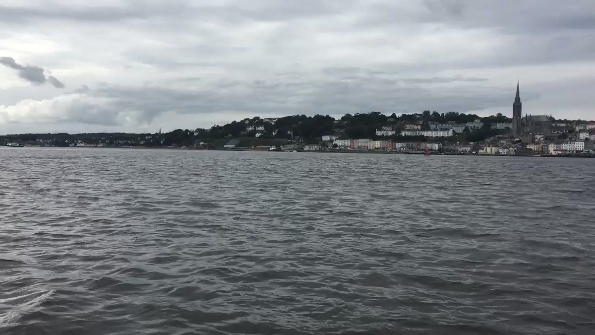 Love it @CorkHarbourBH #cobh  #cork you gotta do this when visiting cobh https://t.co/spTbHeEU1g