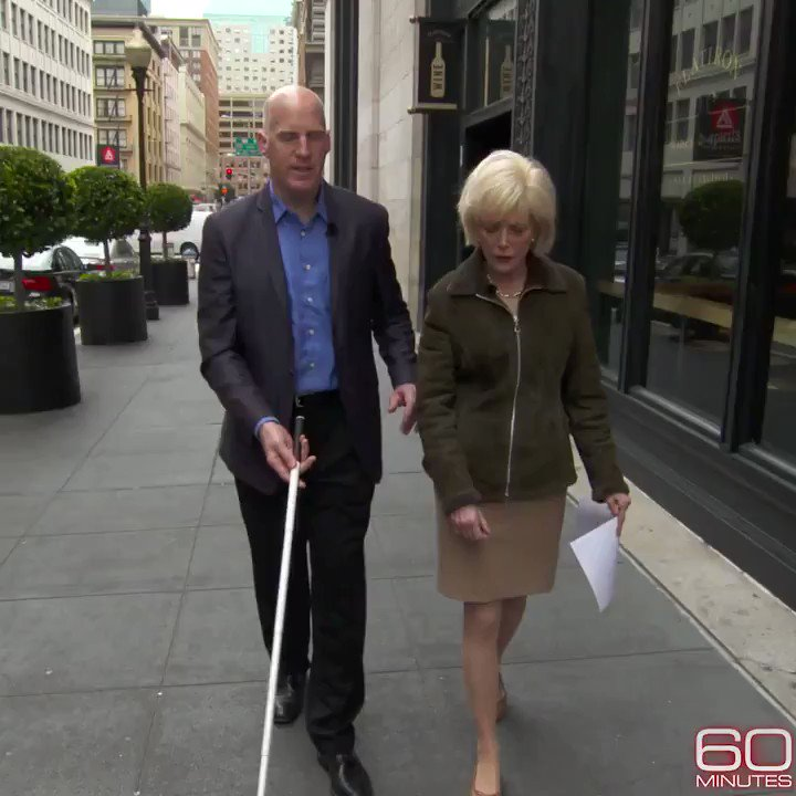 Tonight, meet an architect who specializes in designing spaces for people with disabilities. How does he have such a knack for something so specific? He's blind himself. cbsn.ws/31yCDC0