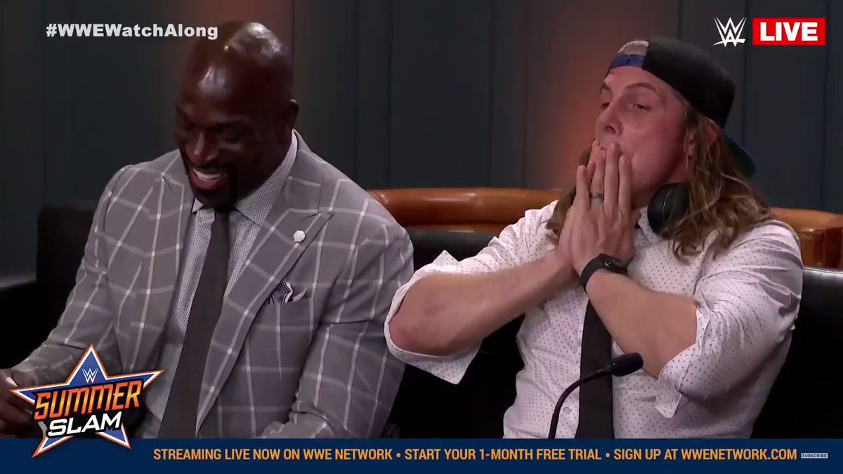 Matt Riddle met Goldberg backstage at SummerSlam - glbnews com