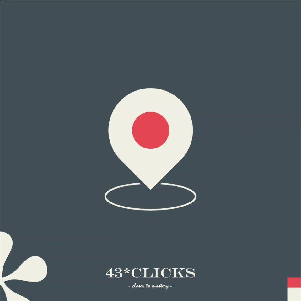 43 clicks closer to mastery.
