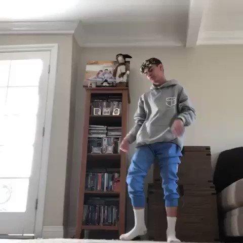 """Dancing at home is my safe haven."" —16-year-old Tre De Rego instagram.com/p/B1Ele5pAHmg/"