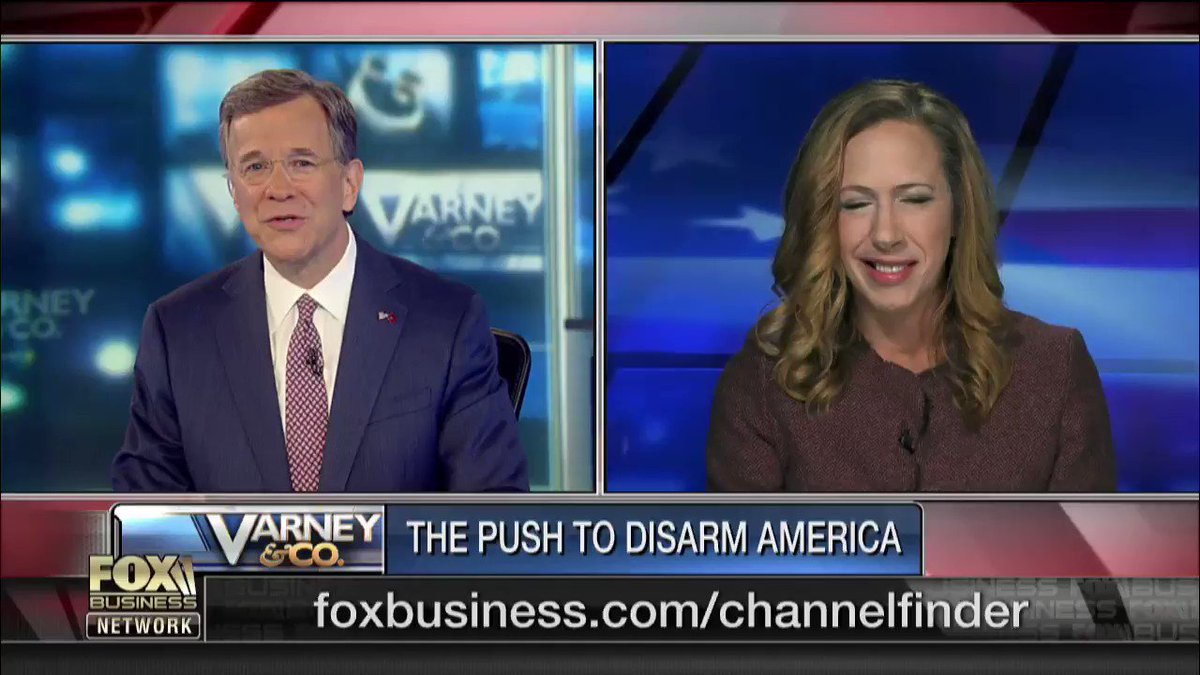Are #Democrats too extreme when it comes to #GunControl? @DavidAsmanfox is joined by @KimStrassel of @WSJ to discuss how gun control isn't just a #SecondAmendment issue, but a due process issue as well. #VarneyCo https://t.co/SkZ03JEqZB