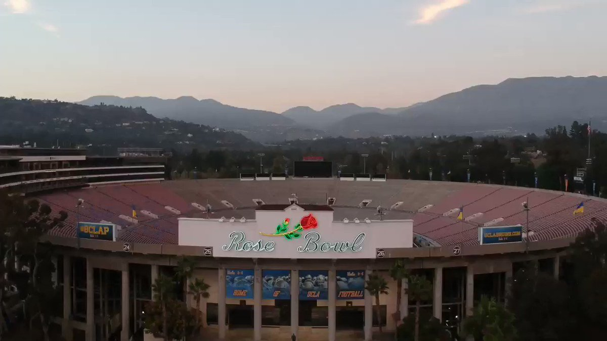 Nothing beats watching a game at the Rose Bowl! Just ask @SInow, who named @RoseBowlStadium the greatest stadium in the college football history!  Join us on Sept. 7️⃣ for our first home game and see for yourself!   🎟️ http://bit.ly/2M6g5oh   #GoBruins – at Rose Bowl Stadium