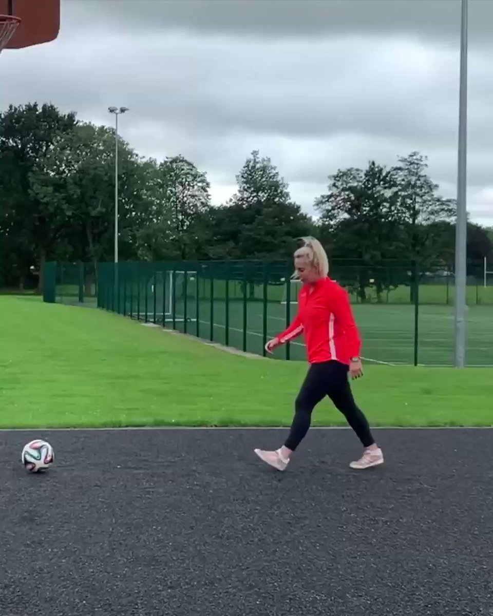 Better with my feet... ⚽️🤷‍♀️
