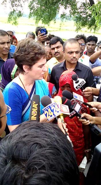 Revocation of #Article370 unconstitutional, rules not followed: @priyankagandhi @INCIndia Reports @SherineElizabe2 #PriyankaTakesPakLine