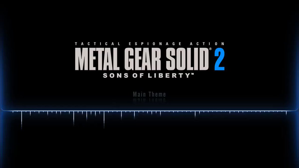 25. Metal Gear Solid 2 - Main Theme