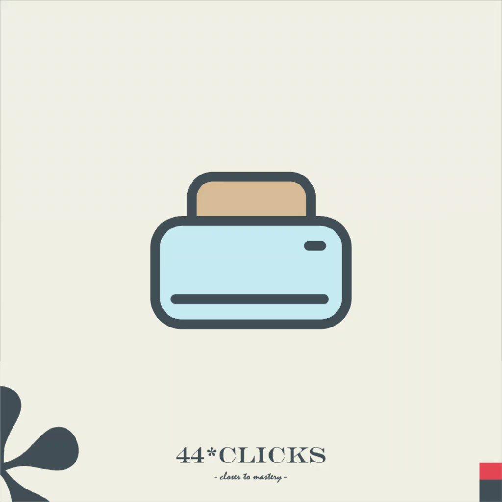 44 clicks closer to mastery.