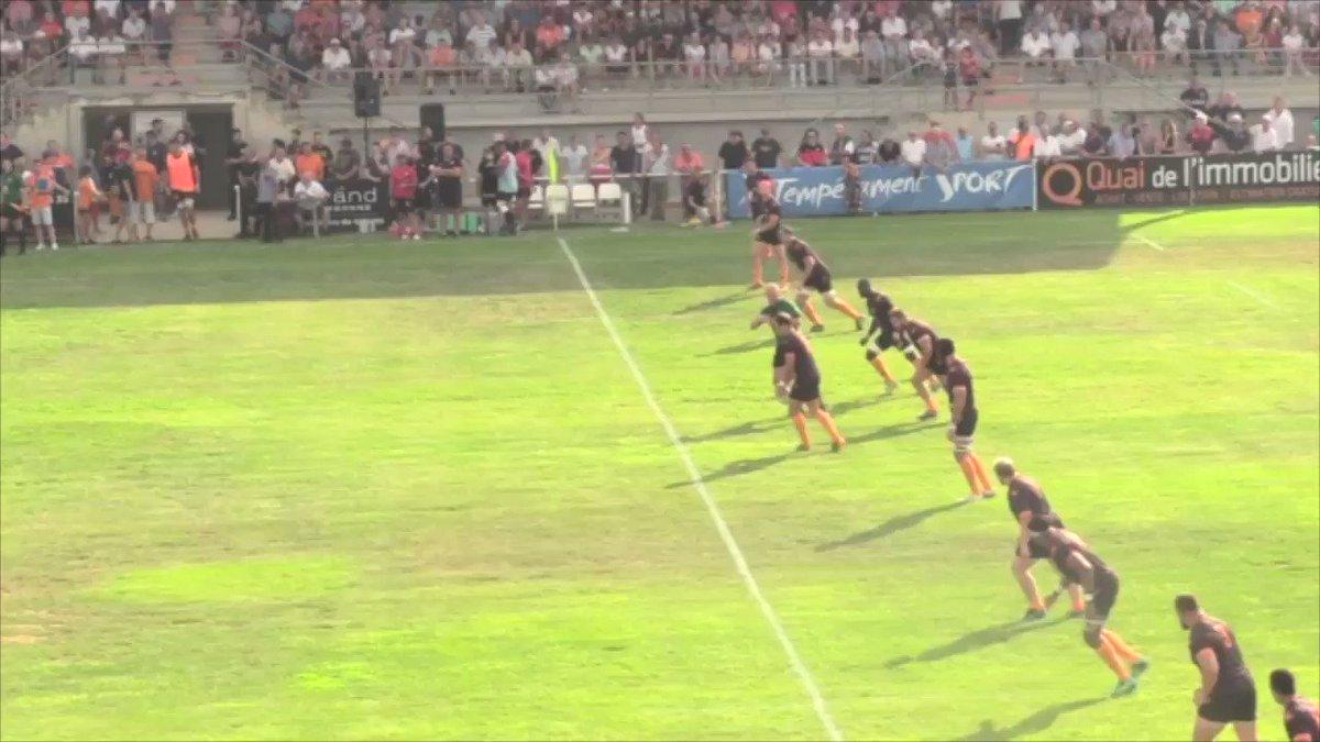 Retrouvez le résumé du match de préparation remporté contre le Valence Romans...