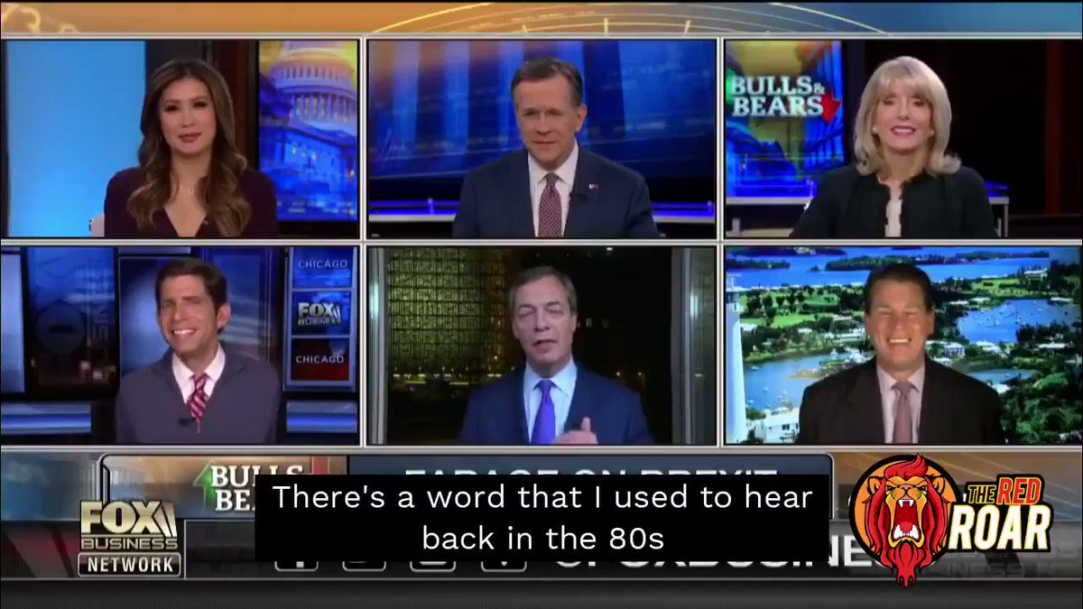 EXCL: Nigel Farage promises a Thatcher-inspired post-Brexit bonfire of workers' rights and environmental standards in unearthed video. https://www.theredroar.com/2019/08/exclusive-farage-video-reveals-thatcher-inspired-plan-for-brexit-race-to-the-bottom/ …