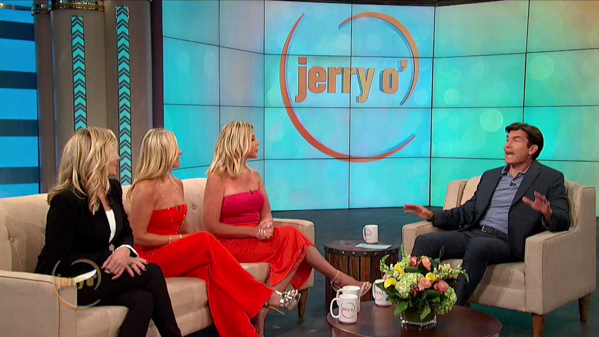 """The """"Tres Amigas"""" @Vgunvalson @ShanonBeador @TamraBarney from #RHOC dish about their love lives! Watch now at http://www.JerryOShow.com."""