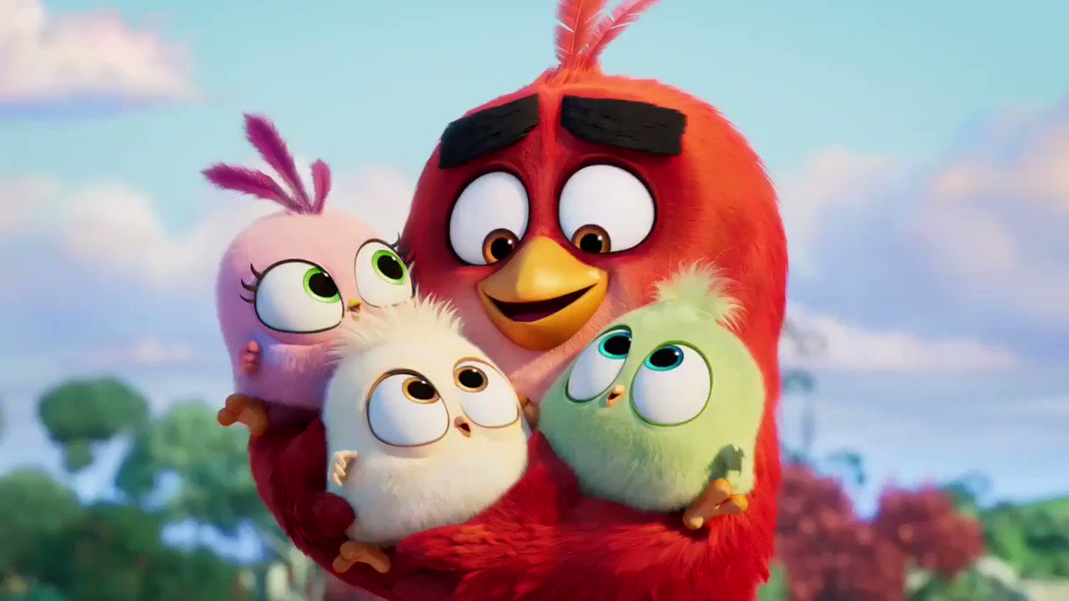 #AngryBirdsMovie2 is now in theaters!!!