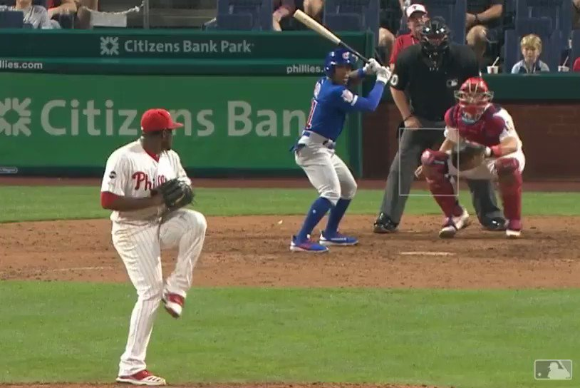 Chicago Cubs railroaded by the most wonderfully terrible strike call of the MLB season